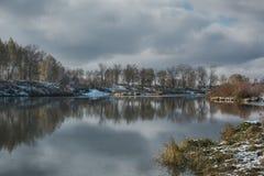 Сибирское река Стоковые Фотографии RF