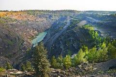 Сибирь, добыча угля Стоковые Фото