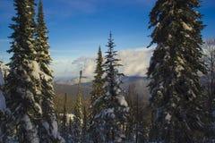 Сибирь Sheregesh Стоковое Фото
