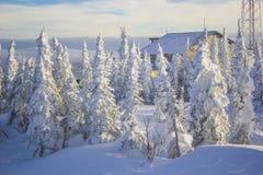 Сибирь Sheregesh Стоковая Фотография
