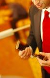 сигара его человек Стоковая Фотография RF