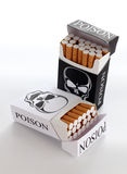 сигарета коробки Стоковые Изображения RF