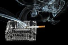 Сигарета Lit Стоковая Фотография RF