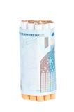 Сигареты и деньги Стоковое Изображение