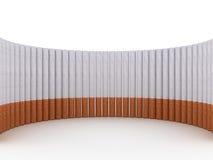 сигареты предпосылки изолировали белизну Стоковое Фото