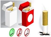 сигареты иллюстрация вектора
