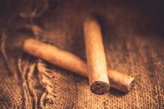 Сигары винтажные Стоковое фото RF
