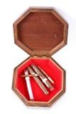 сигары коробки Стоковые Изображения RF
