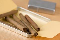 сигары кубинские Стоковые Изображения