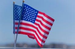 Сигнальный флажок соотечественника США Стоковые Изображения RF