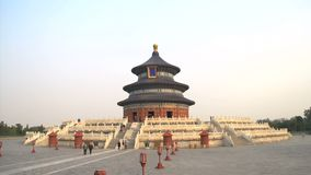 Сигнал вне от Temple of Heaven, Пекина сток-видео