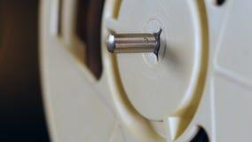 Сигнал-в стержне металла во вращая вьюрке ленты сток-видео