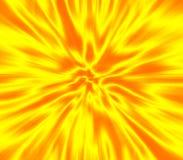 сигнал желтого цвета нерезкости Стоковое фото RF