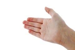 сигнал руки предлагая Стоковые Изображения RF