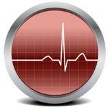 сигнал сердца удара Стоковые Фотографии RF