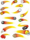 сигнал спорта ракеты шариков Стоковая Фотография