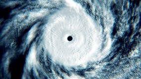 Сигнал урагана вне иллюстрация вектора