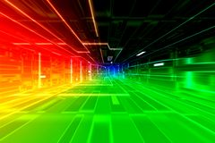 сигнал цепи доски Стоковая Фотография RF