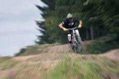 Сигнал 21 велосипеда горы стоковое фото rf