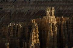 Сигналит внутри каньон Bryce Стоковое фото RF