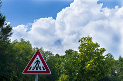 Сигнал прогулки Стоковое Изображение