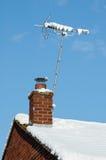 Сигнал снега Стоковые Фотографии RF