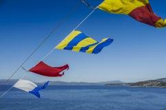 Сигнальные флаги Стоковое Изображение