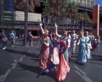 СИДНЕЙ, АВСТРАЛИЯ - SEPT. 12, 2015 - австралиец Hindus в организации проходя парадом город Стоковое Изображение