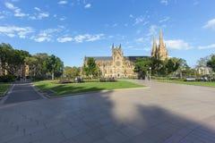 Сидней Гайд-парк стоковые фотографии rf