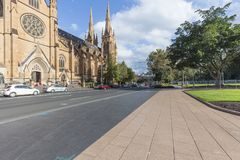 Сидней Гайд-парк стоковые изображения rf