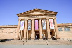 СИДНЕЙ - 12-ое октября: Художественная галерея Нового Уэльса ведущий музей изобразительных искусств в Новом Уэльсе и Сиднее Стоковая Фотография