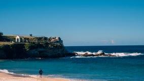 Сидней, пляж Coogee стоковое изображение rf