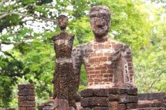 Сидя Будда - висок в Kamphaeng Phet Таиланде стоковые изображения rf
