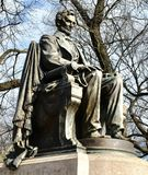 Сидя взгляд Линкольна Sidel стоковое изображение