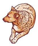 Сидя собака Стоковая Фотография RF