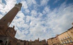 Сиена - Тоскана, Италия стоковое фото rf