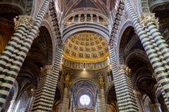 Сиена Duomo di Diena Стоковые Изображения RF