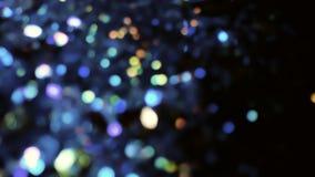 Сизоватое Bokeh освещает в много различных, ярких, и милых цветов Стоковое фото RF