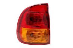 сизоватый автомобиля конца фары света желтый цвет представления вне Стоковое Изображение RF