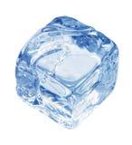 сизоватый льдед кубика стоковая фотография