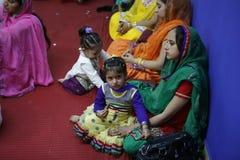 Сикхские женщины и дочери Стоковое Изображение
