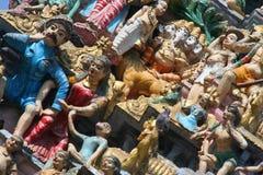 Сикхские carvings виска Стоковая Фотография