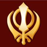 сикхский символ Стоковые Фотографии RF
