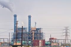 сила генераторной станции Стоковые Фотографии RF