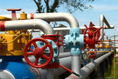 сила завода газа стоковое фото rf