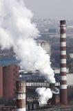 сила завода угля Стоковая Фотография RF