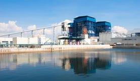сила завода электрического генератора Стоковое фото RF