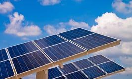 сила завода энергии солнечная Стоковые Изображения