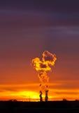 сила завода philippsburg ger ядерная Стоковое Фото
