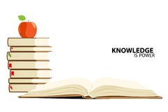 сила знания Стоковое Изображение